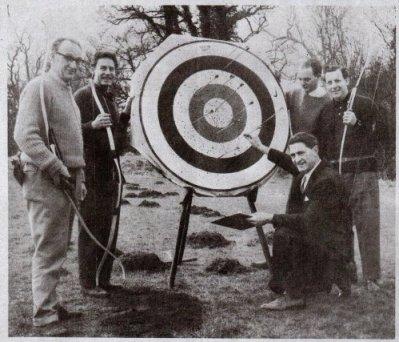 The Jolly Archers circa 1965